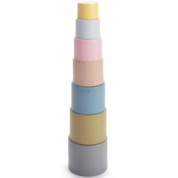 Pyramide empilable en bioplastique (6 mois et +)