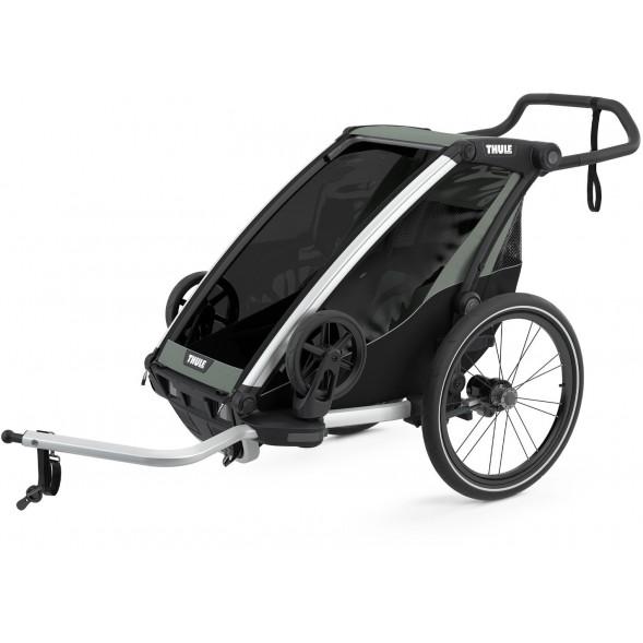 """Chariot Lite """"Agave"""" (Remorque-vélo, Poussette & Jogger 1 place)"""