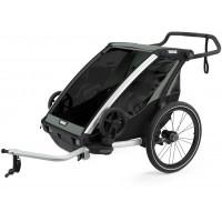 """Chariot Lite 2  """"Agave"""" (Remorque-vélo, Poussette & Jogger 2 places) Thule"""