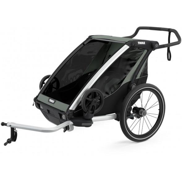 """Chariot Lite 2  """"Agave"""" (Remorque-vélo, Poussette & Jogger 2 places)"""