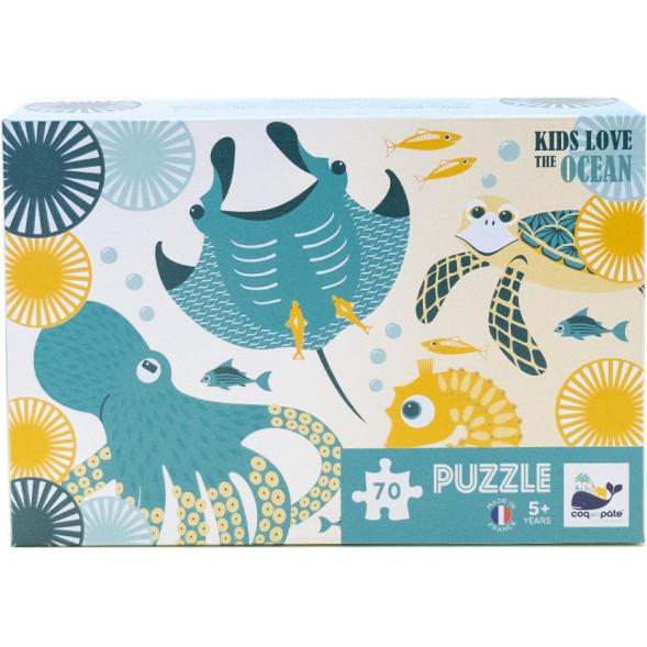 """Puzzle """"Kids Love the Ocean"""" (5 ans et +)"""