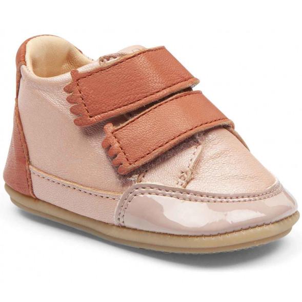 "Chaussures pré-marche en cuir Irun B ""Rose Baba"""