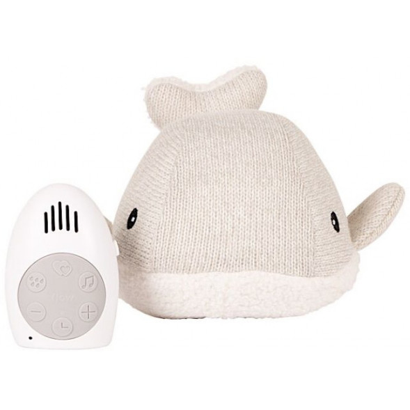 """Peluche apaisante musicale Baby Conforter """"Baleine Moby """"Gris"""""""