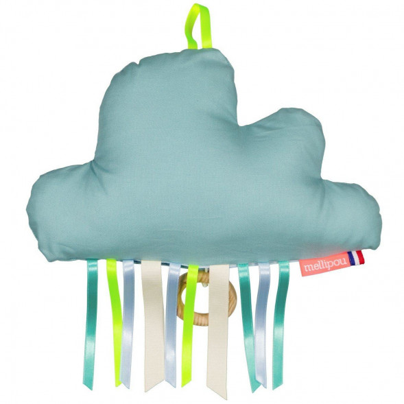 """Coussin musical et lumineux Nuage Bio Otis """"I just called to say I love you"""""""