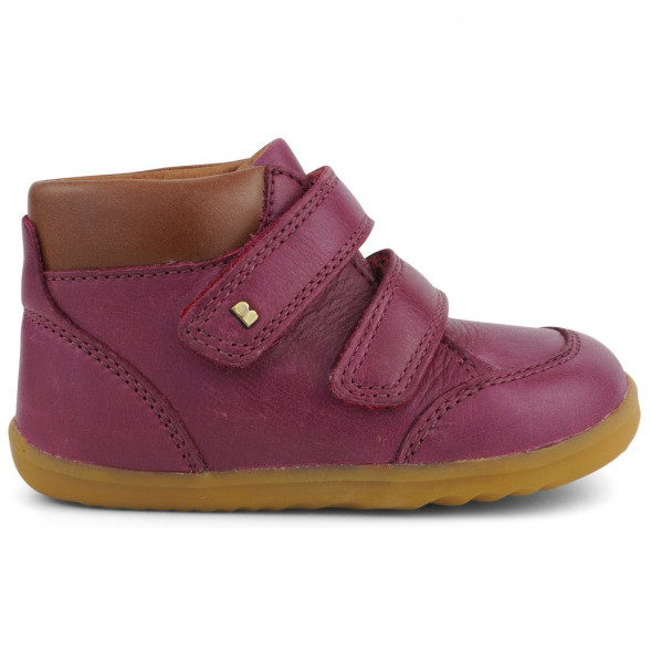 """Chaussures en cuir Step Up """"Timber"""" Boysenberry"""