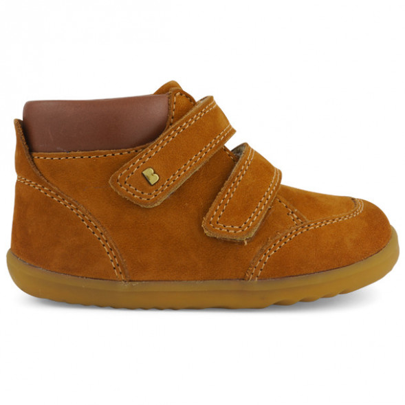 """Chaussures en cuir Step Up """"Timber"""" Moutarde"""