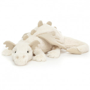 Peluche Dragon des neiges (66 cm) Jellycat