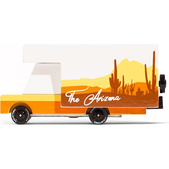 "Voiture Camping-Car en bois ""Arizona"" (8,4 cm)"