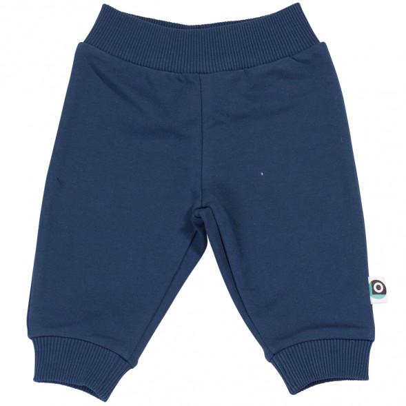 "Pantalon bébé en coton bio Kobe ""Bleu"""