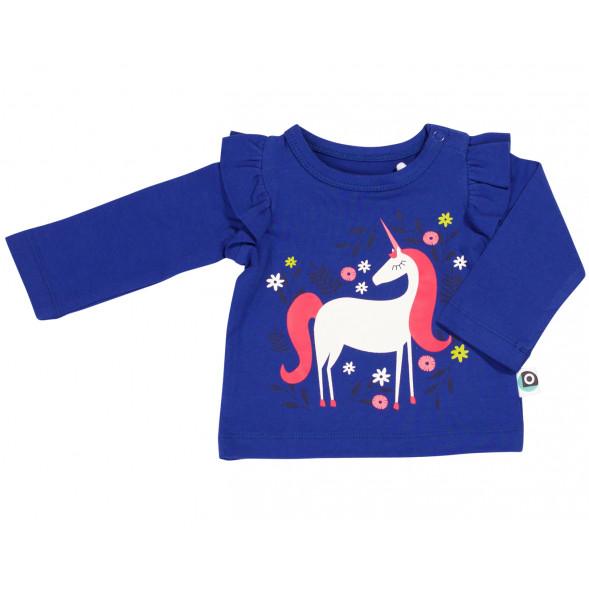 """T-shirt bébé en coton bio Emiel """"Licorne"""""""