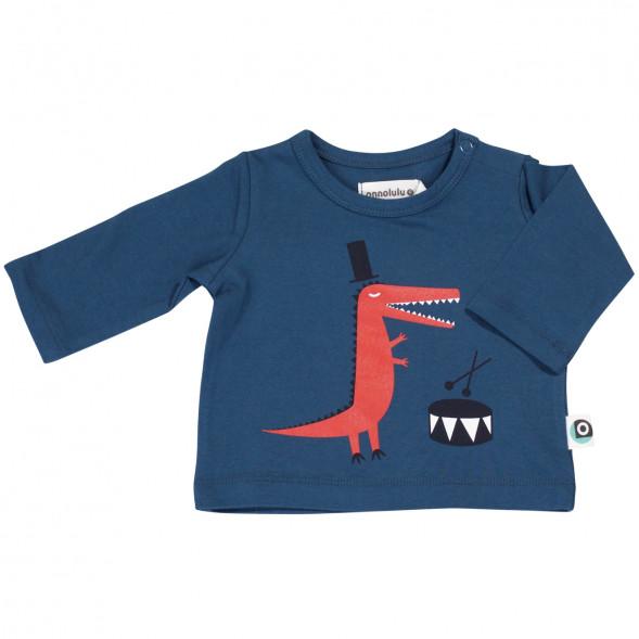 "T-shirt bébé en coton bio Emiel ""Croco"""
