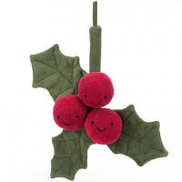 Peluche Amuseable Houx de Noël (22 cm) Jellycat