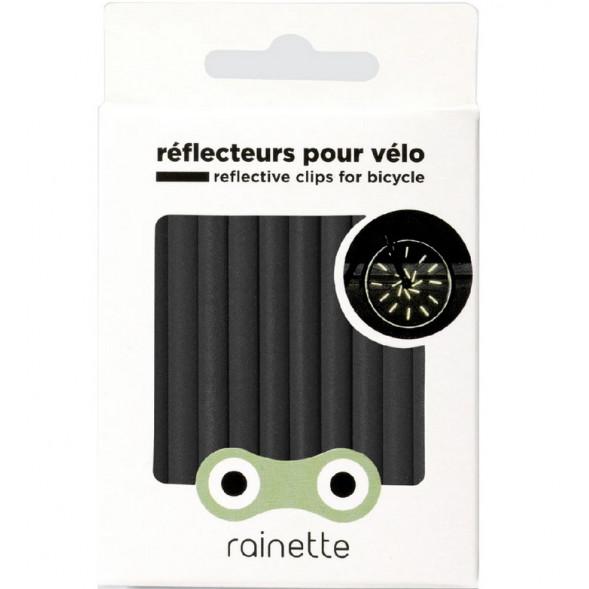"""Réflecteurs pour roues de vélo """"Gris Anthracite"""""""