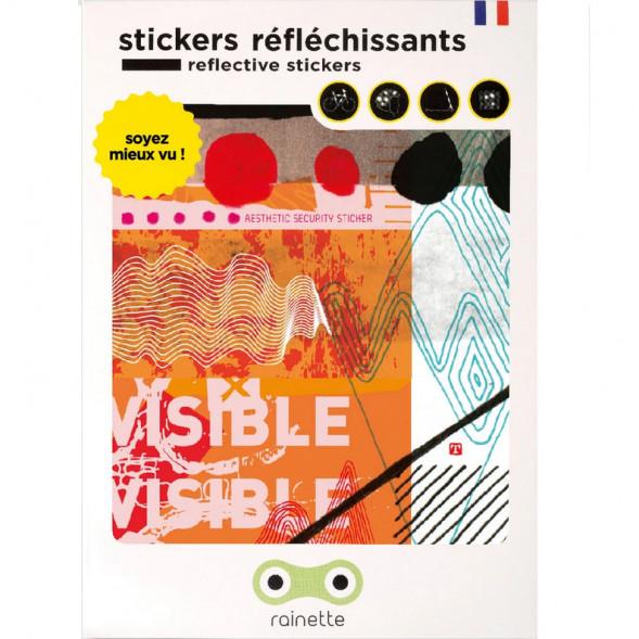 """Stickers réflechissants pour vélo et accessoires """"Abstract"""""""