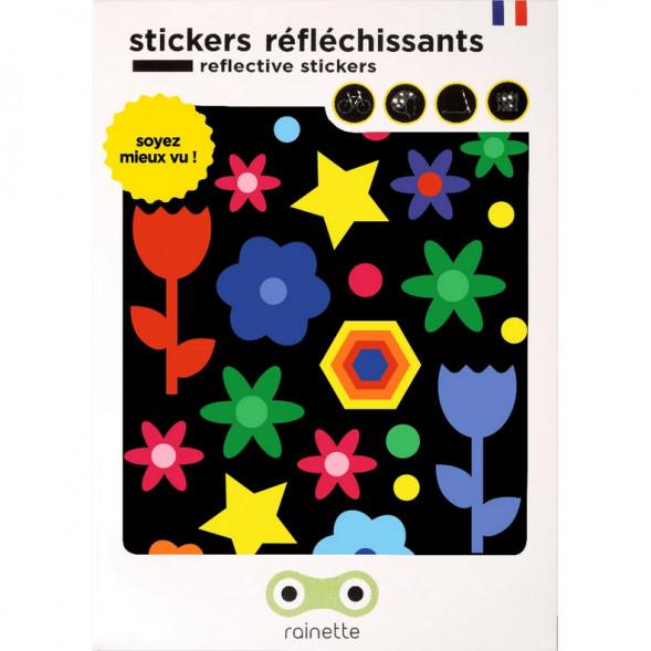"""Stickers réflechissants pour vélo et accessoires """"Colors"""""""