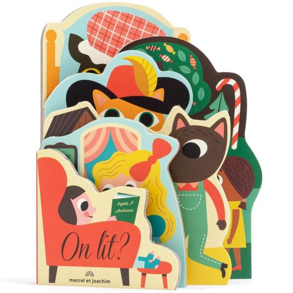 """Livre d'éveil imagier en carton """"On lit?""""  (12 mois et +) d'Ingela P. Arrhenius"""