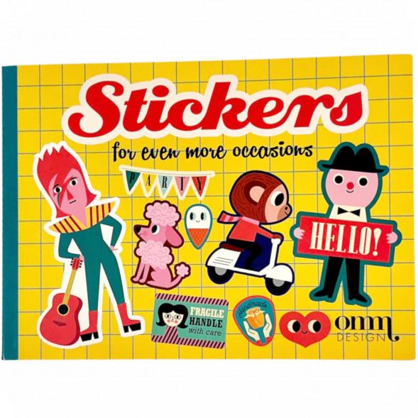 "Livre de Stickers ""For Even More Occasions"""