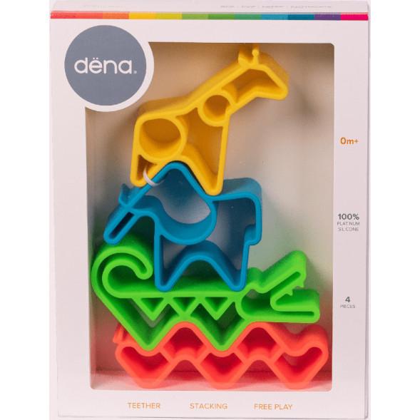 "Jouets en silicone Animaux ""Neon"" (4 pièces)"