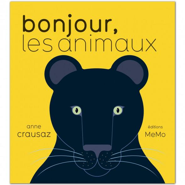 """Livre """"Bonjour Les Animaux"""" d'Anne Crausaz (12 mois et +)"""