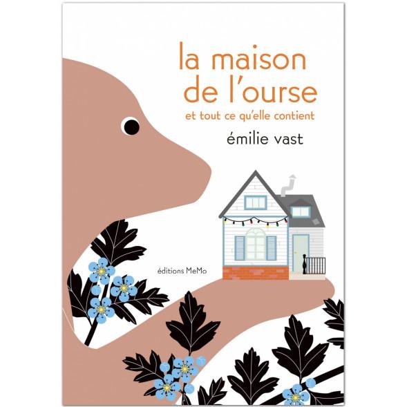 """Livre """"La maison de l'Ourse"""" d'Emilie Vast (3 ans et +)"""