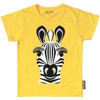 """T-shirt manches courtes en coton bio """"Mibo Zèbre"""""""