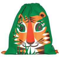 Rusksack Mibo Tigre en coton bio